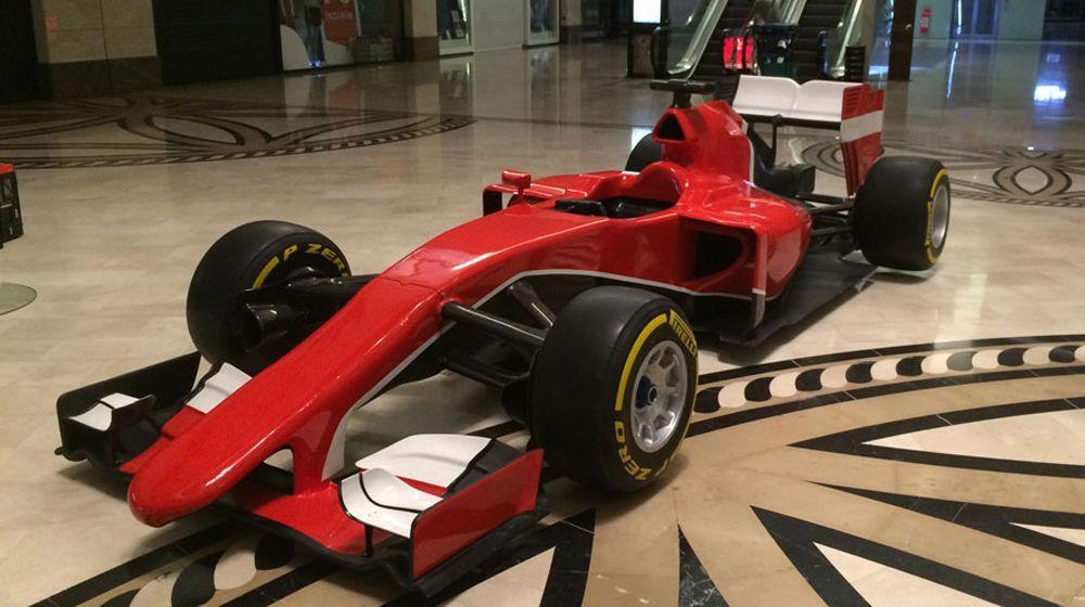 FORMULA F1 SHOW CAR 1
