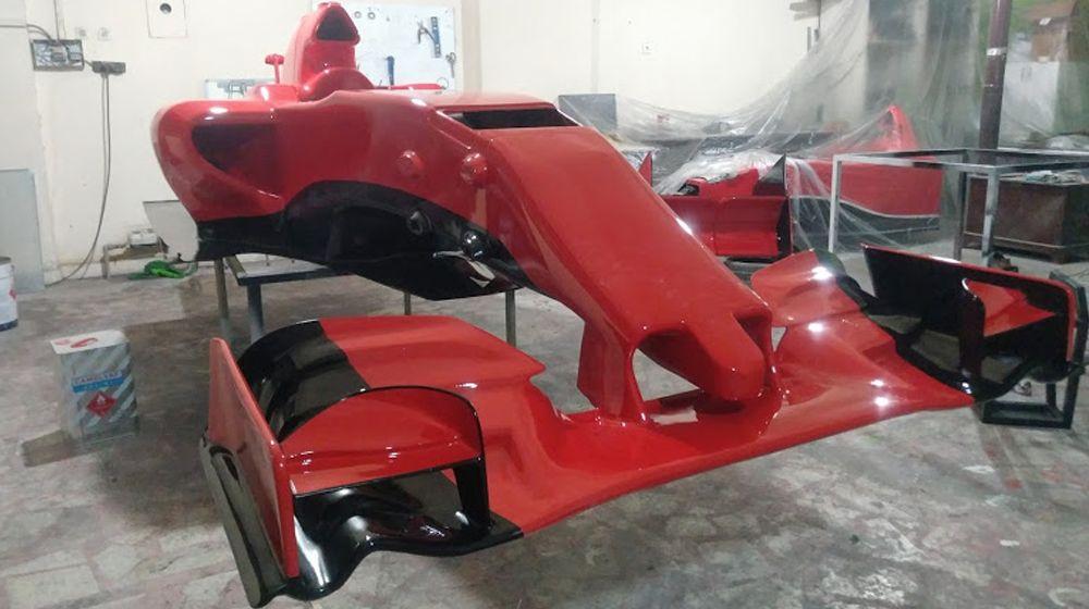 FORMULA F1 SHOW CAR 3