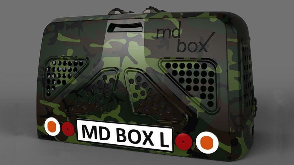 MD BOX FIBERGLASS KÖPEK TAŞIMA KAFESİ 5